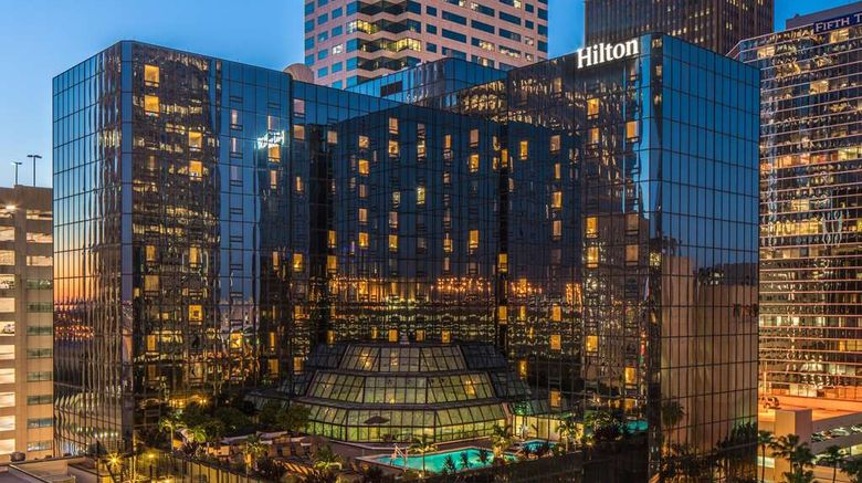 """Hilton Tampa Downtown Exterior. Images powered by <a href=""""http://web.iceportal.com"""" target=""""_blank"""" rel=""""noopener"""">Ice Portal</a>."""