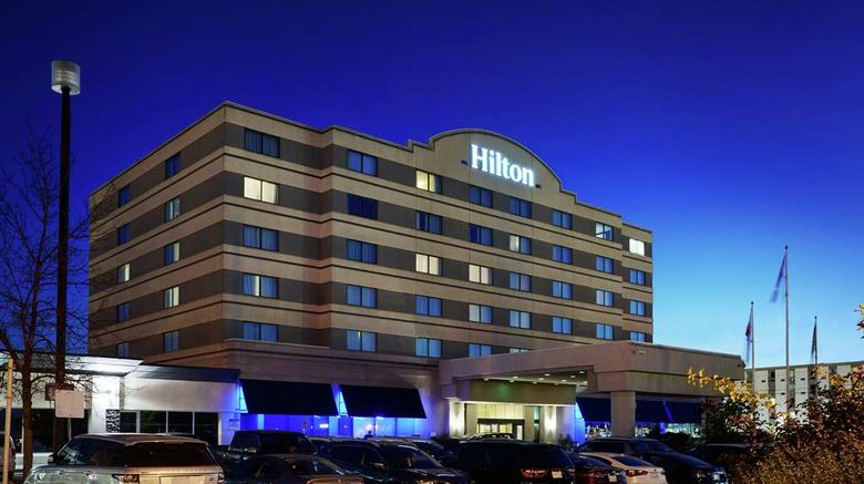 """Hilton Winnipeg Airport Exterior. Images powered by <a href=""""http://web.iceportal.com"""" target=""""_blank"""" rel=""""noopener"""">Ice Portal</a>."""