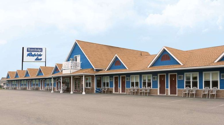"""Travelodge Fredericton Exterior. Images powered by <a href=""""http://web.iceportal.com"""" target=""""_blank"""" rel=""""noopener"""">Ice Portal</a>."""