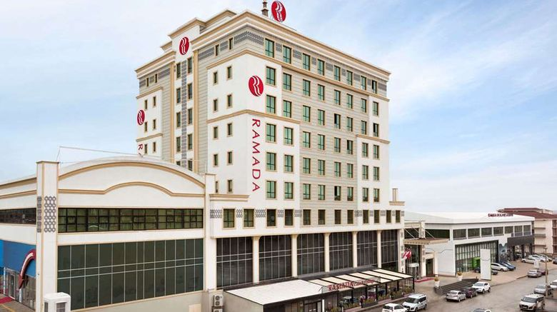 """Ramada By Wyndham Elazig Exterior. Images powered by <a href=""""http://web.iceportal.com"""" target=""""_blank"""" rel=""""noopener"""">Ice Portal</a>."""