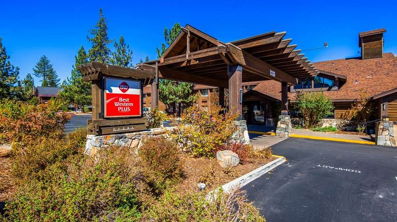 """Best Western Plus Truckee-Tahoe Hotel Exterior. Images powered by <a href=""""http://web.iceportal.com"""" target=""""_blank"""" rel=""""noopener"""">Ice Portal</a>."""