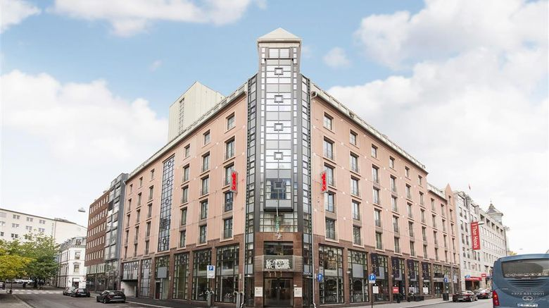 """Scandic Victoria Hotel Exterior. Images powered by <a href=""""http://web.iceportal.com"""" target=""""_blank"""" rel=""""noopener"""">Ice Portal</a>."""