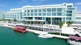"""<b>Hilton at Resorts World Bimini Exterior</b>. Images powered by <a href=""""https://iceportal.shijigroup.com/"""" title=""""IcePortal"""" target=""""_blank"""">IcePortal</a>."""