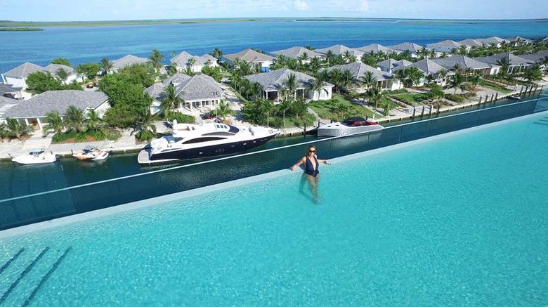 """<b>Hilton at Resorts World Bimini Pool</b>. Images powered by <a href=""""https://iceportal.shijigroup.com/"""" title=""""IcePortal"""" target=""""_blank"""">IcePortal</a>."""