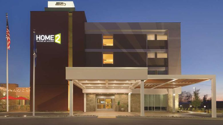 """Home2 Suites by Hilton Bellingham Airpt Exterior. Images powered by <a href=""""http://web.iceportal.com"""" target=""""_blank"""" rel=""""noopener"""">Ice Portal</a>."""