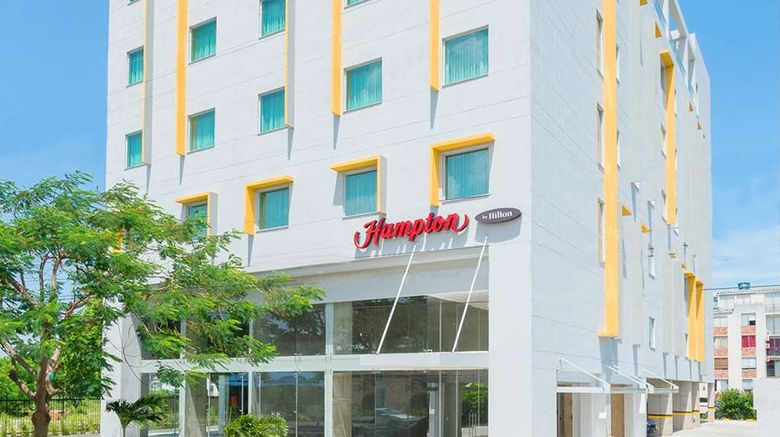 """Hampton by Hilton Yopal Exterior. Images powered by <a href=""""http://web.iceportal.com"""" target=""""_blank"""" rel=""""noopener"""">Ice Portal</a>."""