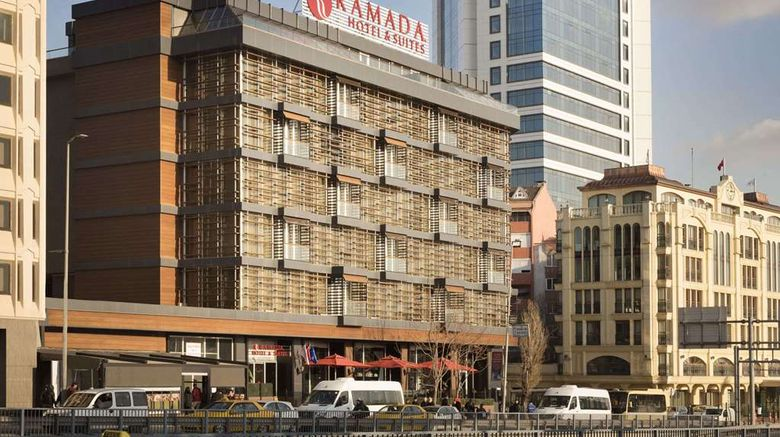 """Ramada Hotel  and  Suites Istanbul Sisli Exterior. Images powered by <a href=""""http://web.iceportal.com"""" target=""""_blank"""" rel=""""noopener"""">Ice Portal</a>."""