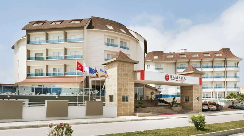 """Ramada Resort Side Exterior. Images powered by <a href=""""http://web.iceportal.com"""" target=""""_blank"""" rel=""""noopener"""">Ice Portal</a>."""