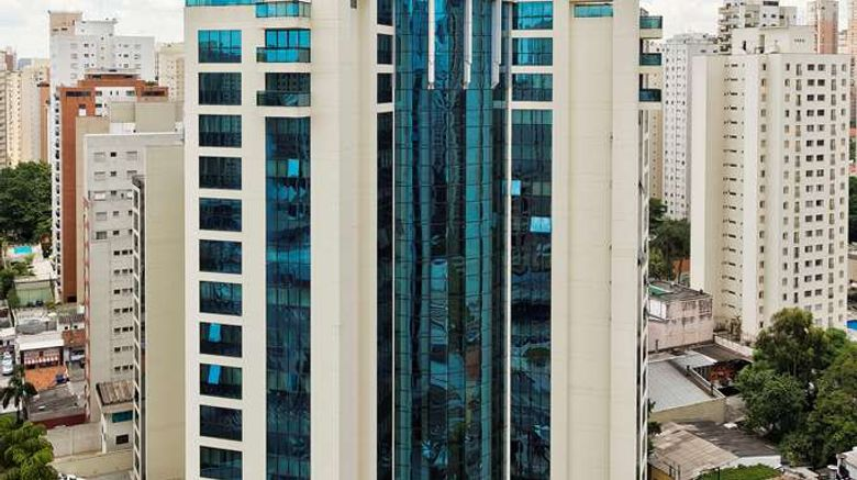 """Melia Ibirapuera Exterior. Images powered by <a href=""""http://web.iceportal.com"""" target=""""_blank"""" rel=""""noopener"""">Ice Portal</a>."""