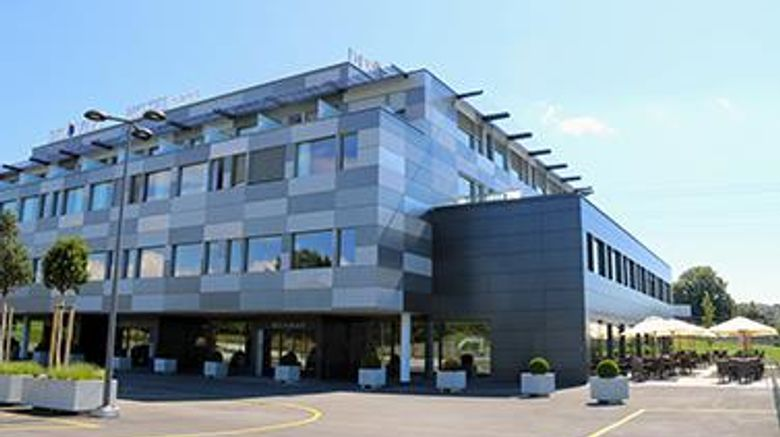 """Discovery Hotel Crissier Exterior. Images powered by <a href=""""http://web.iceportal.com"""" target=""""_blank"""" rel=""""noopener"""">Ice Portal</a>."""