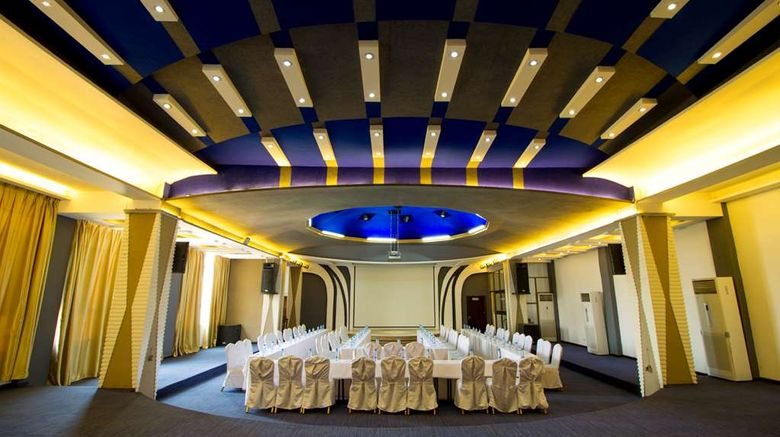 """<b>Best Western Plus Lusaka Grand Hotel Ballroom</b>. Images powered by <a href=""""https://iceportal.shijigroup.com/"""" title=""""IcePortal"""" target=""""_blank"""">IcePortal</a>."""