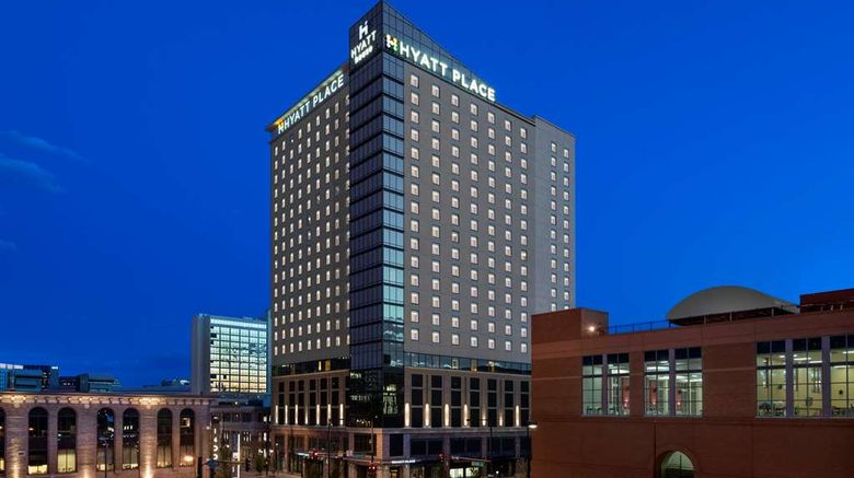 """Hyatt House Denver Downtown Exterior. Images powered by <a href=""""http://web.iceportal.com"""" target=""""_blank"""" rel=""""noopener"""">Ice Portal</a>."""