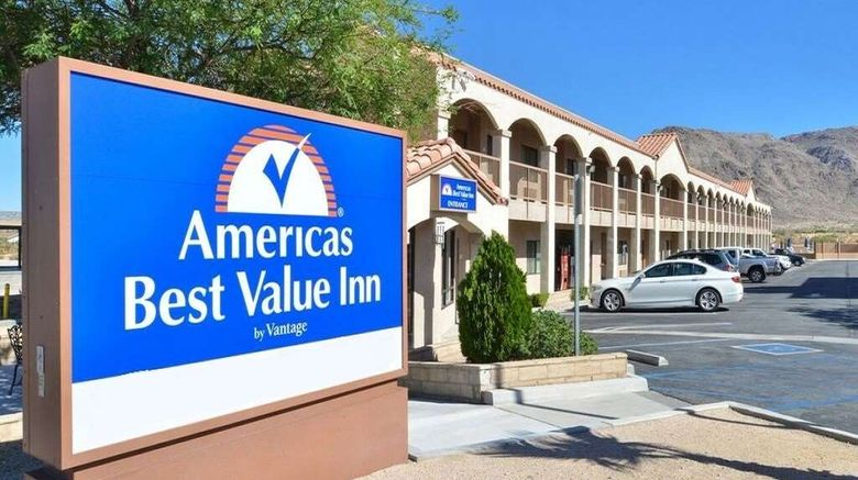 """Americas Best Value Inn - Joshua Tree Exterior. Images powered by <a href=""""http://web.iceportal.com"""" target=""""_blank"""" rel=""""noopener"""">Ice Portal</a>."""