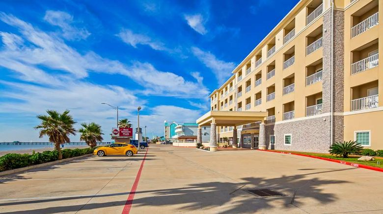 """Best Western Plus Galveston Suites Exterior. Images powered by <a href=""""http://web.iceportal.com"""" target=""""_blank"""" rel=""""noopener"""">Ice Portal</a>."""