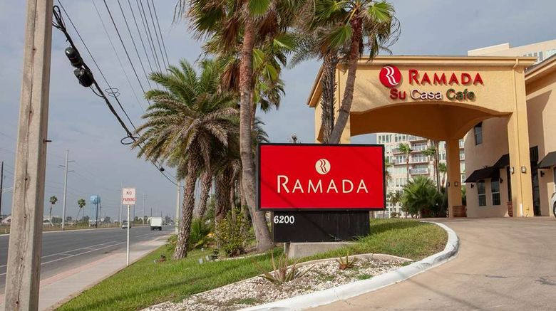 """Ramada Hotel  and  Suites South Padre Island Exterior. Images powered by <a href=""""http://web.iceportal.com"""" target=""""_blank"""" rel=""""noopener"""">Ice Portal</a>."""