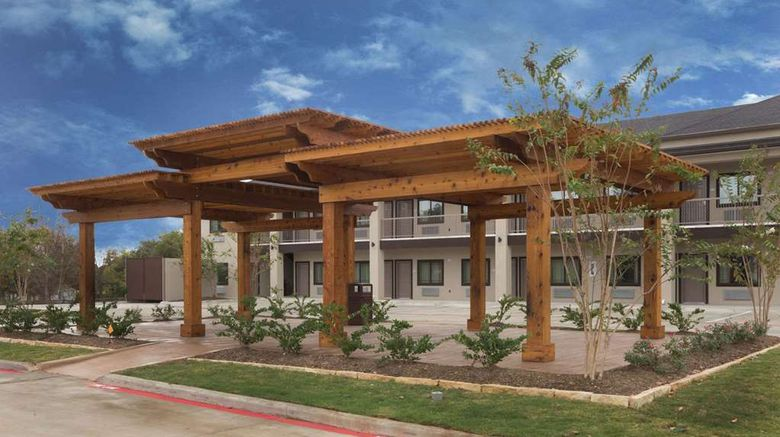 """Baymont Inn/Suites Bryan College Station Exterior. Images powered by <a href=""""http://web.iceportal.com"""" target=""""_blank"""" rel=""""noopener"""">Ice Portal</a>."""