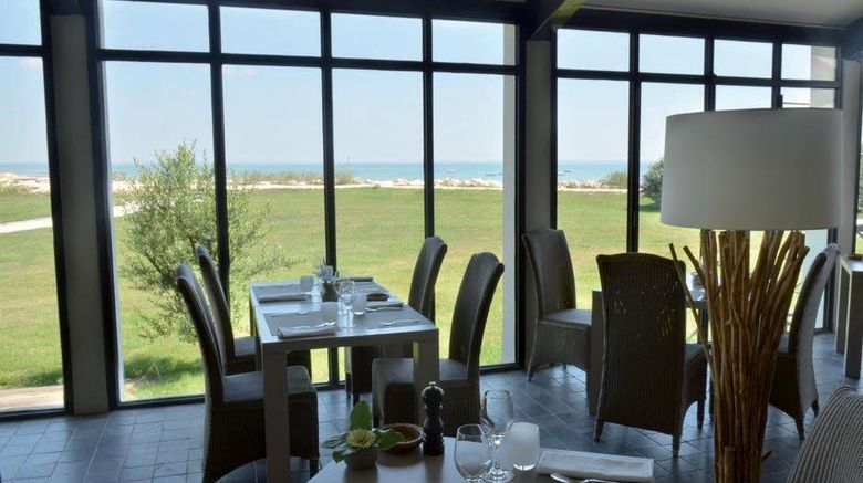 """<b>Relais Thalasso Hotel Atalante Restaurant</b>. Images powered by <a href=""""https://iceportal.shijigroup.com/"""" title=""""IcePortal"""" target=""""_blank"""">IcePortal</a>."""