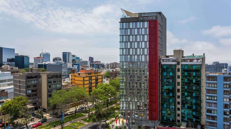 """Ramada Encore Lima San Isidro Hotel Exterior. Images powered by <a href=""""http://web.iceportal.com"""" target=""""_blank"""" rel=""""noopener"""">Ice Portal</a>."""
