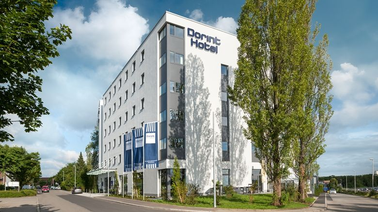 """Essential by Dorint Stuttgart/Airport Exterior. Images powered by <a href=""""http://web.iceportal.com"""" target=""""_blank"""" rel=""""noopener"""">Ice Portal</a>."""