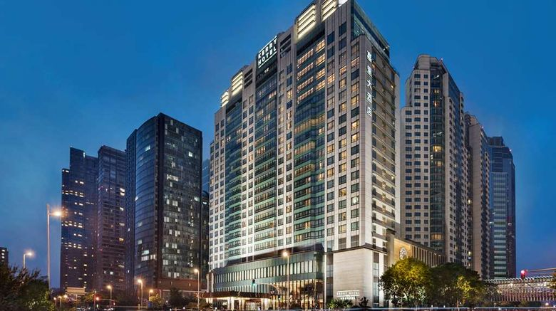"""Kerry Hotel Beijing Exterior. Images powered by <a href=""""http://web.iceportal.com"""" target=""""_blank"""" rel=""""noopener"""">Ice Portal</a>."""