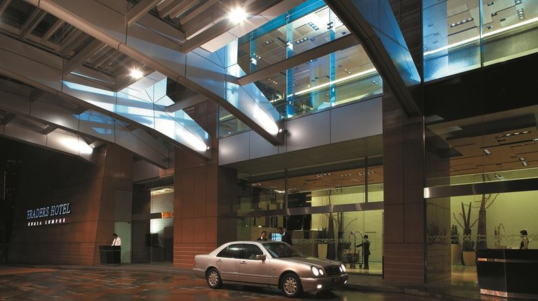 """Traders Hotel, Kuala Lumpur Exterior. Images powered by <a href=""""http://web.iceportal.com"""" target=""""_blank"""" rel=""""noopener"""">Ice Portal</a>."""