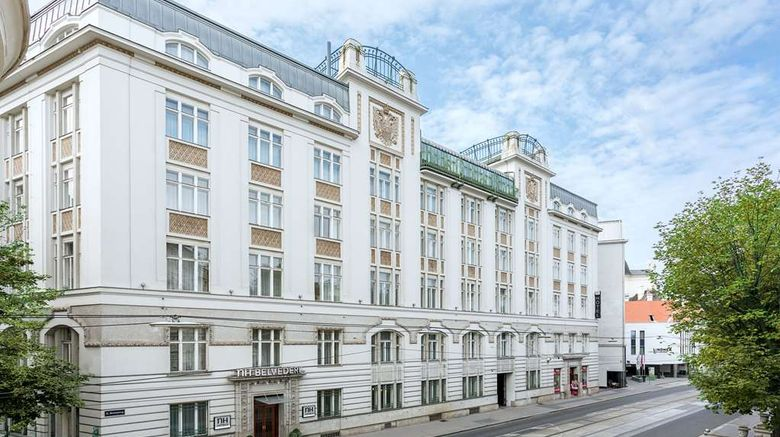 """NH Wien Belvedere Exterior. Images powered by <a href=""""http://web.iceportal.com"""" target=""""_blank"""" rel=""""noopener"""">Ice Portal</a>."""