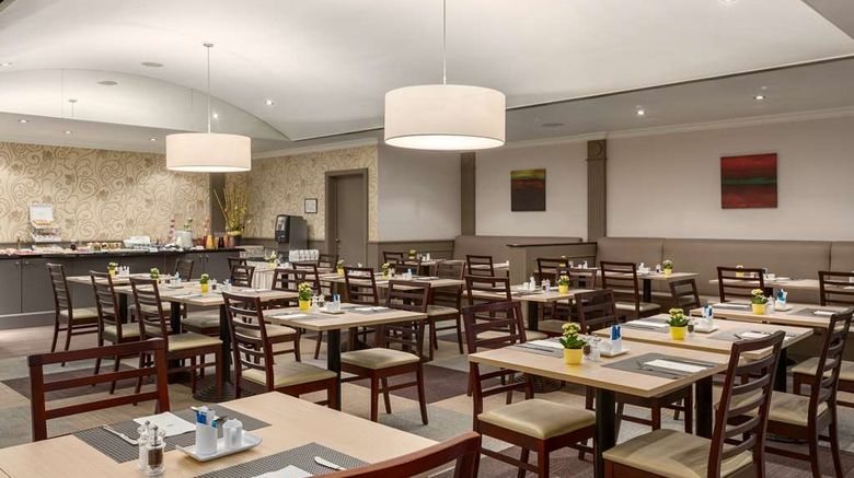 """<b>NH Brussels Carrefour de l'Europe Restaurant</b>. Images powered by <a href=""""https://iceportal.shijigroup.com/"""" title=""""IcePortal"""" target=""""_blank"""">IcePortal</a>."""