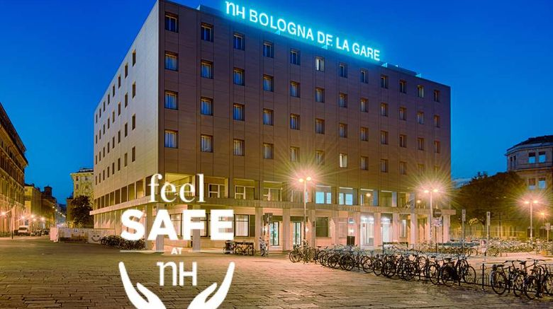 """NH Bologna De La Gare Exterior. Images powered by <a href=""""http://web.iceportal.com"""" target=""""_blank"""" rel=""""noopener"""">Ice Portal</a>."""