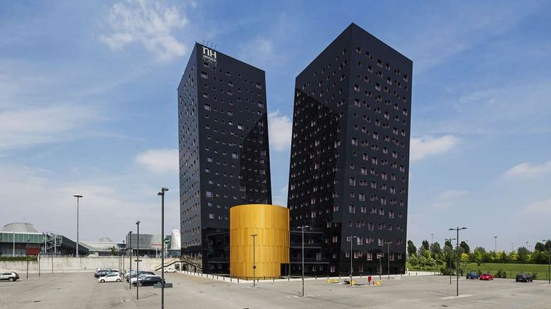 """NH Milano Fiera Exterior. Images powered by <a href=""""http://web.iceportal.com"""" target=""""_blank"""" rel=""""noopener"""">Ice Portal</a>."""