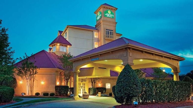 """La Quinta Inn  and  Suites Winston-Salem Exterior. Images powered by <a href=""""http://web.iceportal.com"""" target=""""_blank"""" rel=""""noopener"""">Ice Portal</a>."""