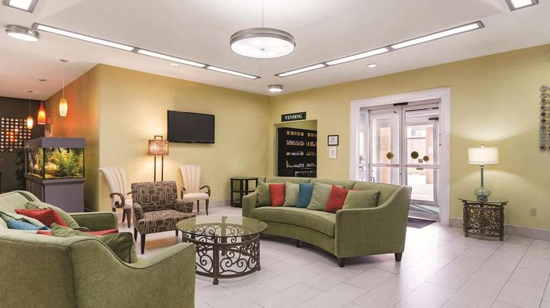 """La Quinta Inn  and  Suites Pharr at Nolana Lobby. Images powered by <a href=""""http://web.iceportal.com"""" target=""""_blank"""" rel=""""noopener"""">Ice Portal</a>."""