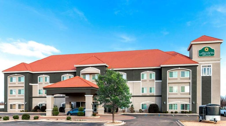 """La Quinta Inn  and  Suites Tucumcari Exterior. Images powered by <a href=""""http://web.iceportal.com"""" target=""""_blank"""" rel=""""noopener"""">Ice Portal</a>."""