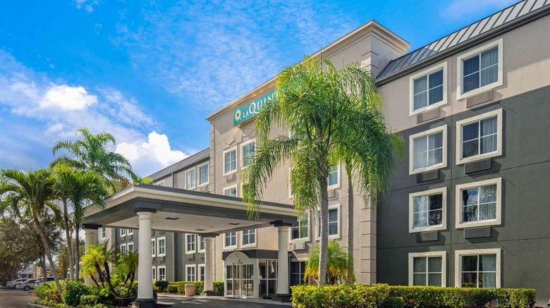 """La Quinta Inn Naples Exterior. Images powered by <a href=""""http://web.iceportal.com"""" target=""""_blank"""" rel=""""noopener"""">Ice Portal</a>."""