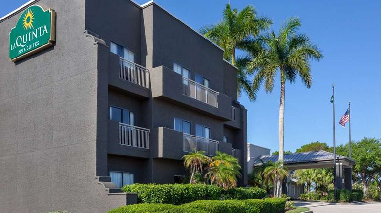 """La Quinta Inn  and  Suites Fort Myers Exterior. Images powered by <a href=""""http://web.iceportal.com"""" target=""""_blank"""" rel=""""noopener"""">Ice Portal</a>."""