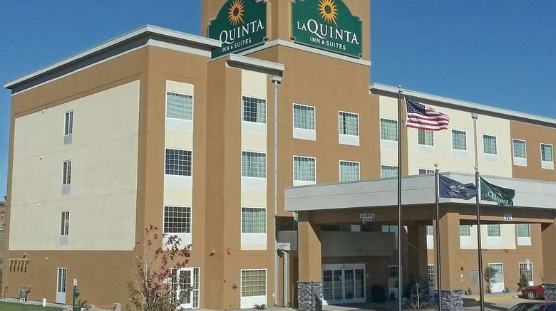 """La Quinta Inn  and  Suites Dickinson Exterior. Images powered by <a href=""""http://web.iceportal.com"""" target=""""_blank"""" rel=""""noopener"""">Ice Portal</a>."""