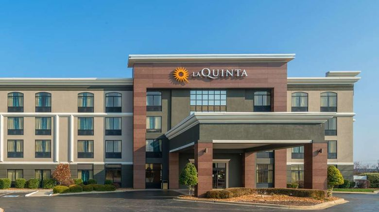 """La Quinta Inn  and  Suites Clarksville Exterior. Images powered by <a href=""""http://web.iceportal.com"""" target=""""_blank"""" rel=""""noopener"""">Ice Portal</a>."""