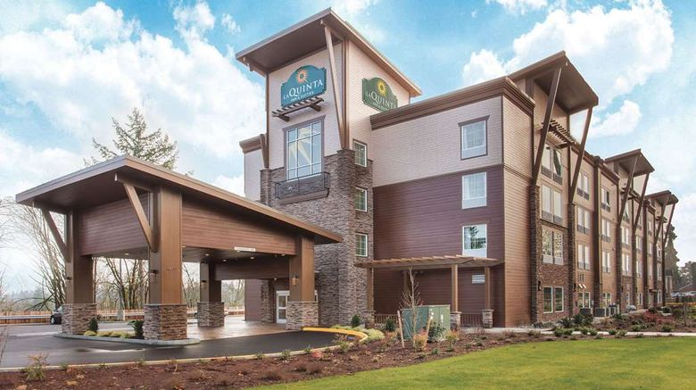 """La Quinta Inn  and  Suites Tumwater - Olympia Exterior. Images powered by <a href=""""http://web.iceportal.com"""" target=""""_blank"""" rel=""""noopener"""">Ice Portal</a>."""