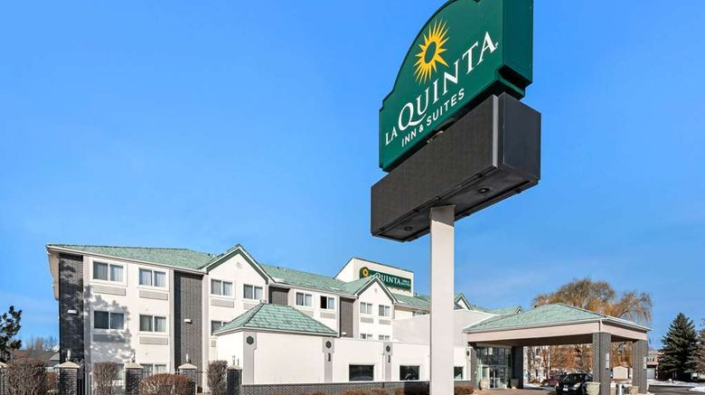 """La Quinta Inn  and  Suites Logan Exterior. Images powered by <a href=""""http://web.iceportal.com"""" target=""""_blank"""" rel=""""noopener"""">Ice Portal</a>."""