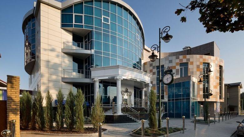 "Iris Art Hotel, Kharkiv Exterior. Images powered by <a href=""http://web.iceportal.com"" target=""_blank"" rel=""noopener"">Ice Portal</a>."