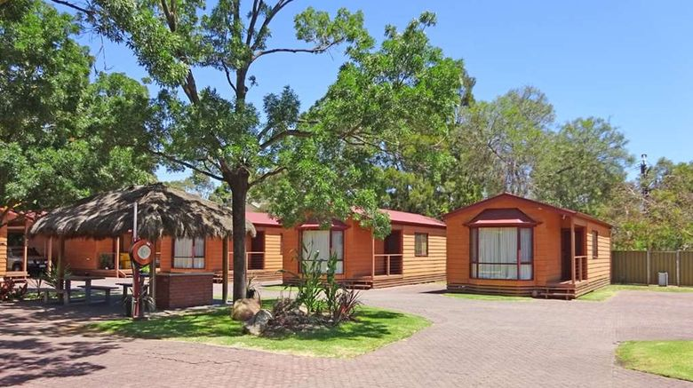 """Adelaide Caravan Park Exterior. Images powered by <a href=""""http://web.iceportal.com"""" target=""""_blank"""" rel=""""noopener"""">Ice Portal</a>."""
