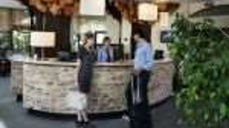"""Executive Suite Hotel Lobby. Images powered by <a href=""""http://web.iceportal.com"""" target=""""_blank"""" rel=""""noopener"""">Ice Portal</a>."""