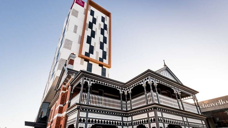 """Sage Hotel West Perth Exterior. Images powered by <a href=""""http://web.iceportal.com"""" target=""""_blank"""" rel=""""noopener"""">Ice Portal</a>."""