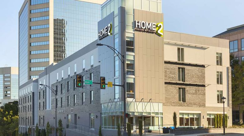 """Home2 Suites by Hilton Greenville Dtwn Exterior. Images powered by <a href=""""http://web.iceportal.com"""" target=""""_blank"""" rel=""""noopener"""">Ice Portal</a>."""