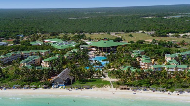 """Tryp Cayo Coco Hotel Exterior. Images powered by <a href=""""http://web.iceportal.com"""" target=""""_blank"""" rel=""""noopener"""">Ice Portal</a>."""
