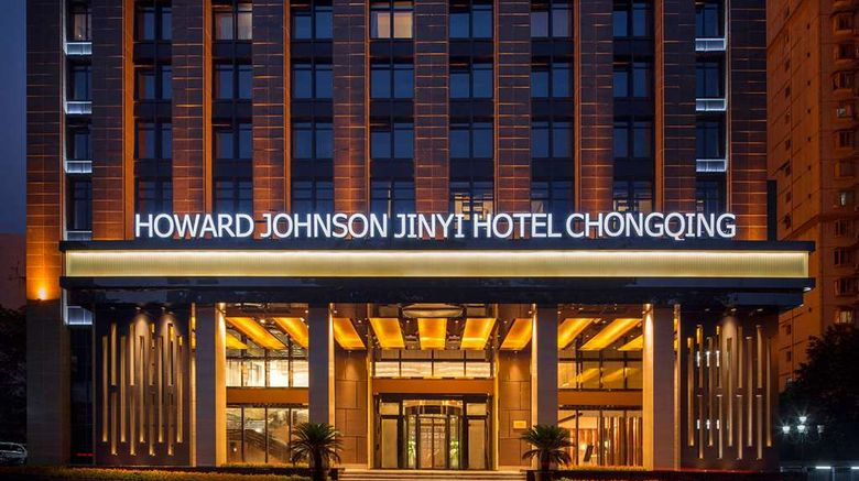 """Howard Johnson Jinyi Hotel Chongqing Exterior. Images powered by <a href=""""http://web.iceportal.com"""" target=""""_blank"""" rel=""""noopener"""">Ice Portal</a>."""