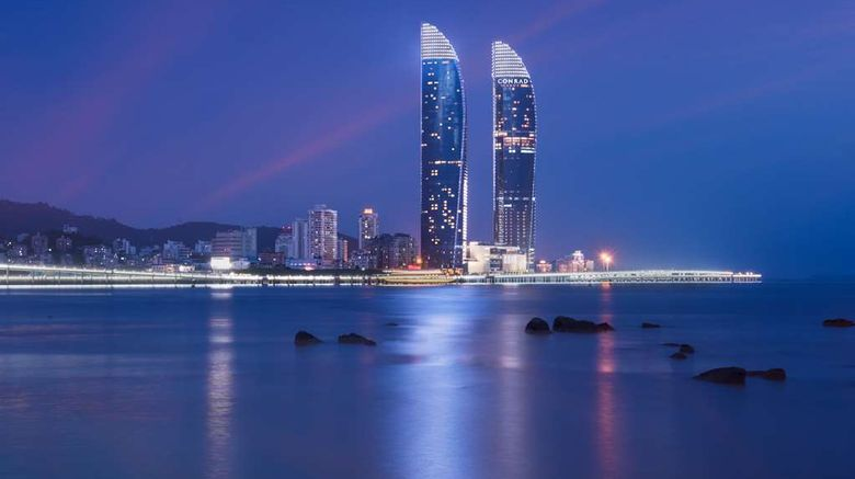 """Conrad Xiamen Exterior. Images powered by <a href=""""http://web.iceportal.com"""" target=""""_blank"""" rel=""""noopener"""">Ice Portal</a>."""