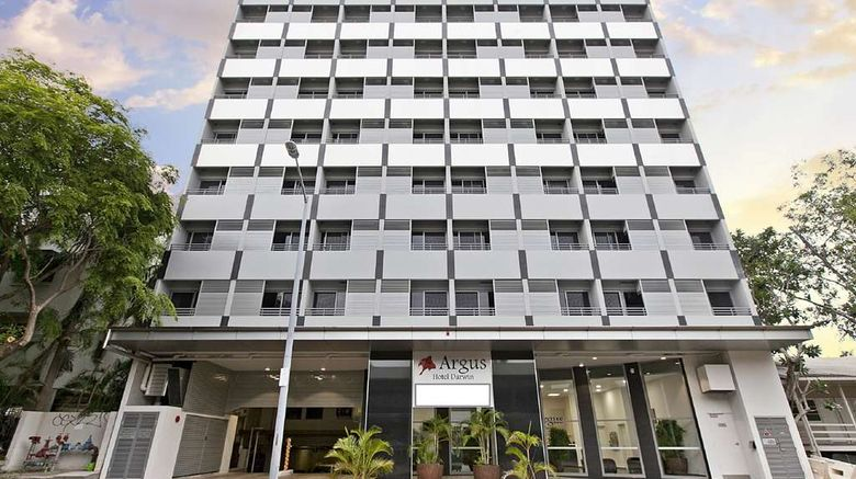 """Argus Hotel Darwin Exterior. Images powered by <a href=""""http://web.iceportal.com"""" target=""""_blank"""" rel=""""noopener"""">Ice Portal</a>."""