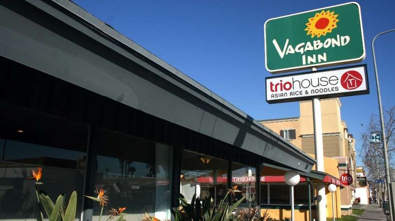 """Vagabond Inn Los Angeles at USC Exterior. Images powered by <a href=""""http://web.iceportal.com"""" target=""""_blank"""" rel=""""noopener"""">Ice Portal</a>."""