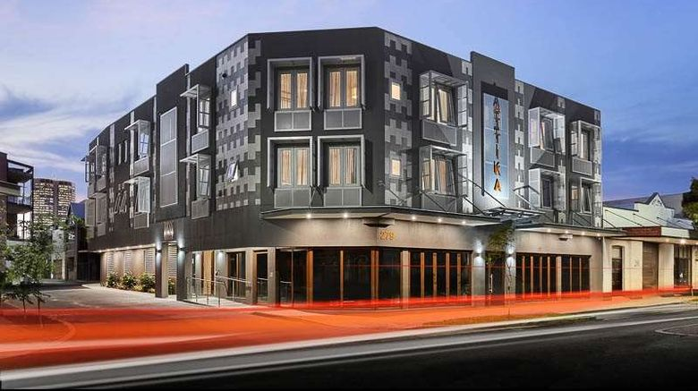 """Attika Hotel Exterior. Images powered by <a href=""""http://web.iceportal.com"""" target=""""_blank"""" rel=""""noopener"""">Ice Portal</a>."""