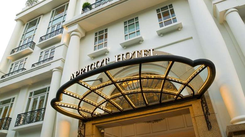 """Apricot Hotel Exterior. Images powered by <a href=""""http://web.iceportal.com"""" target=""""_blank"""" rel=""""noopener"""">Ice Portal</a>."""